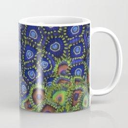 "Macro of Coral Zoanthus ""Blue Hornet"" Coffee Mug"