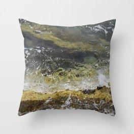Mediterranean Glass - (Pafos, Cyprus) Throw Pillow