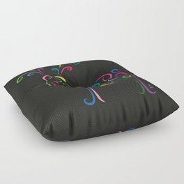 The raindeer - The heart of Esperanza Floor Pillow