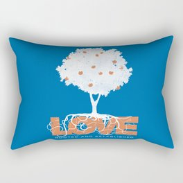 Rooted & Established Rectangular Pillow