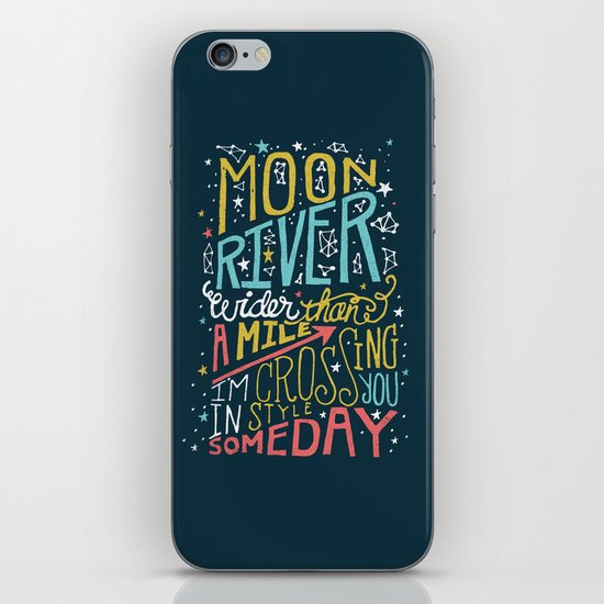 MOON RIVER iPhone Skin
