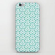 bishamon in emerald iPhone & iPod Skin