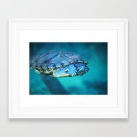 swim Framed Art Prints featuring Swim by Call_me_maurice