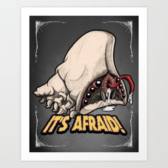 Brain Bug Art Print