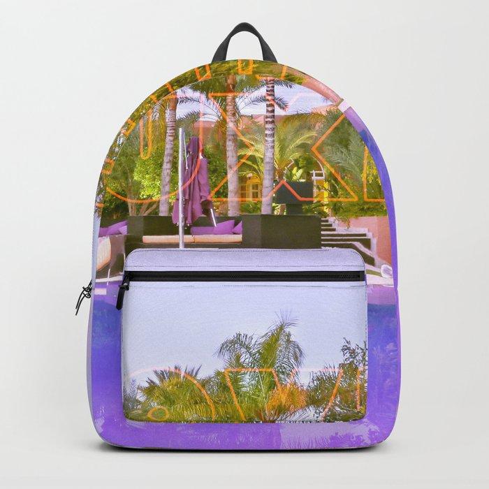 Neon Love Luxe Backpack