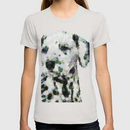 Dalmatian  puppy portrait discover Art Print T-shirt