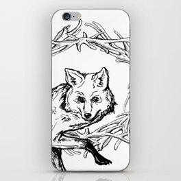 Fox King iPhone Skin