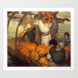 Saturnino Herran - The Offering, 1913 Art Print