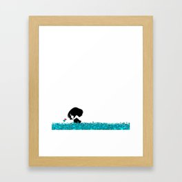 Clover and Coccinelle Framed Art Print