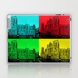 York Minster Pop Art Laptop & iPad Skin