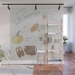 Fall Favorites Wall Mural