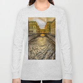 Swan Canal in St. Petersburg Long Sleeve T-shirt