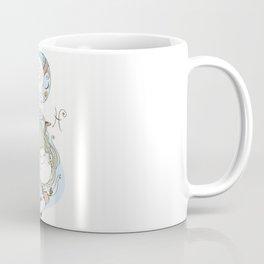 Mermaid Dreams Under the Sea Coffee Mug