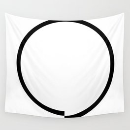 Circle obsessive compulsive Wall Tapestry
