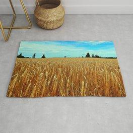 Wheat Field Rug