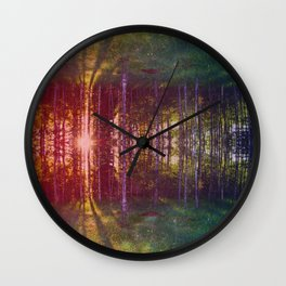 Mirage Wall Clock