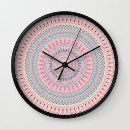 Mandala 491 Wall Clock