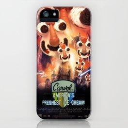 Cookie Puss Episode I: The Freshest Ice Cream Menace iPhone Case