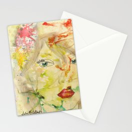 Music in my Mind Stationery Cards