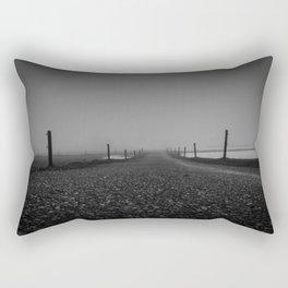 Misty Dawn - Landscape Photography Rectangular Pillow