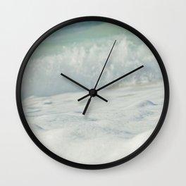 Sea Foam - Ocean Medley Wall Clock