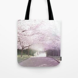 Cherry Blossom Sunday Tote Bag