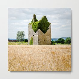 Irish Ruin Metal Print