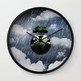 Toon Storm Wall Clock