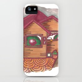 neighbours are watching  iPhone Case