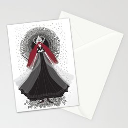 Morena - Slavic Goddess of winter and rebirth of nature Stationery Cards