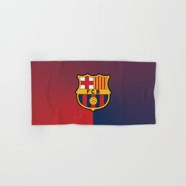 barcelona Sport Football Spain red blue team Hand & Bath Towel