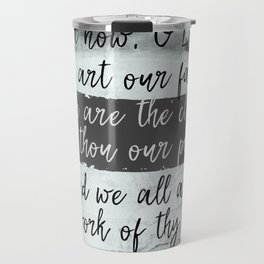 We are the Clay, He is the Potter Scripture Travel Mug
