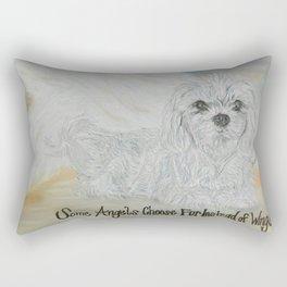 FURever An ANGEL Rectangular Pillow