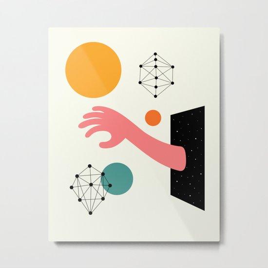 Searching Metal Print