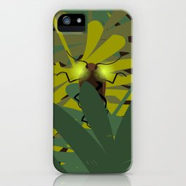 Aglow: headlight click beetles  iPhone Case