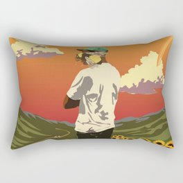 The Creator - Flower Boy Rectangular Pillow
