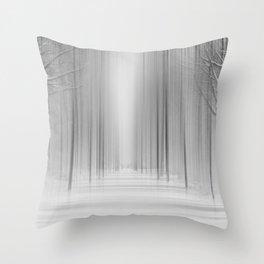 Winter 12 Throw Pillow
