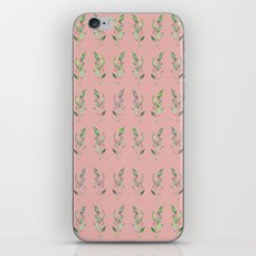 Nature repetition pink iPhone & iPod Skin