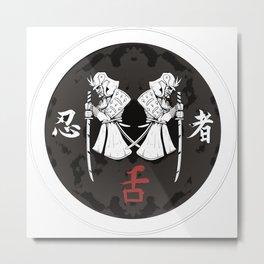 Samurai #4 Metal Print