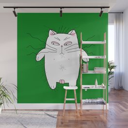 big cat Wall Mural