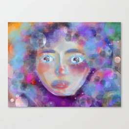 Women in Space Canvas Print
