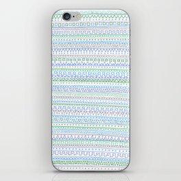 Blue Green iPhone Skin