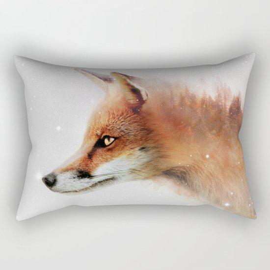 Foxy Love Rectangular Pillow