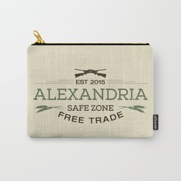 Alexandria Safe Zone Free Trade Carry-All Pouch