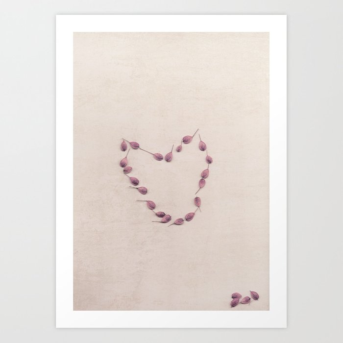 Seeds of love Art Print