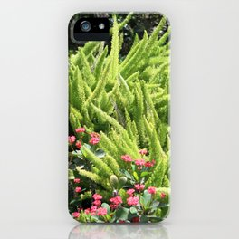 Sunny Green iPhone Case