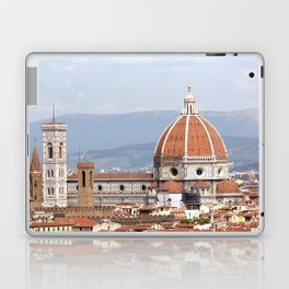 Florence cathedral dome photography Laptop & iPad Skin