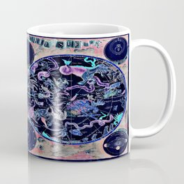 Vintage Celestial Map Coffee Mug