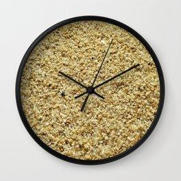 Coarse Grains of Sand Wall Clock