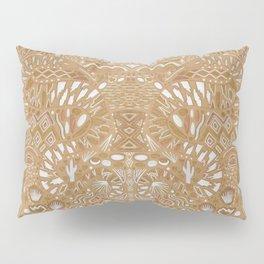 Metallic Snake Pillow Sham